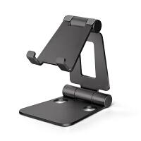 铝合金属手机支架桌面平板ipad通用华为苹果iphone5/8plus托架座