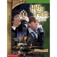 英文原版 Harry Potter and the Chamber of Secrets: Scene for Scene