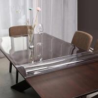 【支持礼品卡】软塑料玻璃PVC桌布防水防烫防油免洗透明餐桌垫胶垫水晶板茶几垫4kh