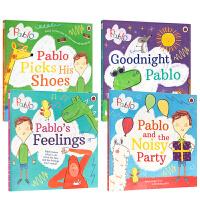 【全店300减100】英文原版 Pablo系列4本 And The Noisy Party/ Pablos Feelin