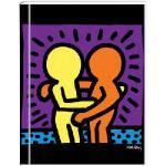 【预订】Keith Haring Lined Green Journal