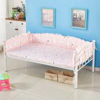 定做儿童床围拼接床品纯棉机洗婴儿床围宝宝床上用品防撞四季通用