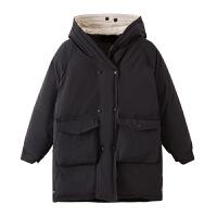 女中长款冬装韩版宽松羽绒棉衣加厚面包服流行外套潮