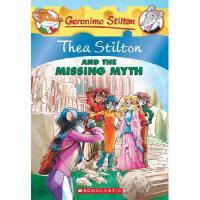 Thea Stilton and the Missing Myth英文原版 老鼠记者:失落之谜