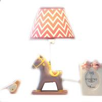 小马可调光LED台灯卧室床头灯 暖光温馨创意儿童房 可爱生日礼物 调光开关