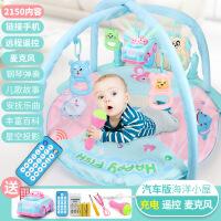 3-6-12个月幼儿脚踏钢琴0-1岁儿童音乐多功能健身架宝宝礼物玩具 汽车