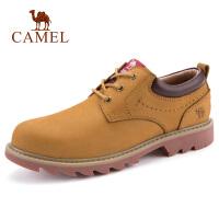 camel骆驼男鞋 秋季新款牛皮工装鞋马丁鞋潮男时尚休闲男鞋子