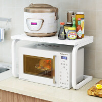 厨房置物架微波炉架子厨房用品落地式多层调味料收纳架储物烤箱架 U型款