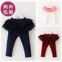 仙,多层纱 1-4岁女童宝宝公主蓬蓬裙裤 春秋款婴儿打底长裤子