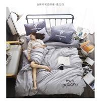 床上四件套纯棉床单被罩枕套三件套学生宿舍单人