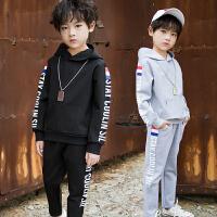 儿童装男童秋装套装春秋运动两件套中大童韩版帅气潮衣9