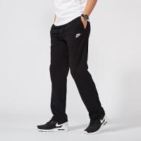 【全场满400减80】NIKE耐克 男裤 运动休闲训练直筒长裤 804400-010