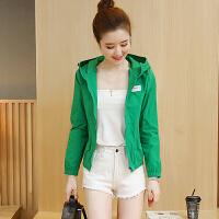 短外套女2018春夏新款时尚韩版修身薄款衣学生棒球服上衣