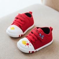 宝宝学步鞋春秋男童机能鞋小童单鞋0-1-3岁2软底女宝宝鞋婴儿鞋子