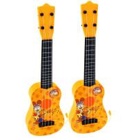 ?儿童吉他玩具可弹奏男孩初学者尤克里里小孩子迷你乐器女孩小吉他? 可调节音质,可弹