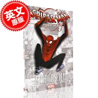 现货 漫威蜘蛛侠:平行宇宙 漫画小说 英文原版 Spider-Man Into the Spider-Verse 平装