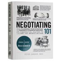 101系列 谈判学 英文原版 Negotiating 101 英文版原版书籍 精装 进口英语书