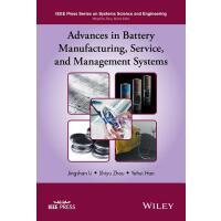 【预订】Advances in Battery Manufacturing, Service, and Managem