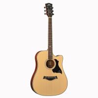 ?卡马吉他民谣吉他卡玛初学入门新手41寸电箱木吉它初学者学生女男?