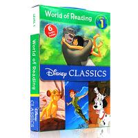 英文原版绘本 World of Reading Disney Classic Characters Level 1 迪