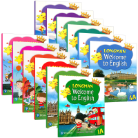 新版香港朗文小学英语教材1-6年级全套 英文原版 Longman Welcome to English 1A 2B-6
