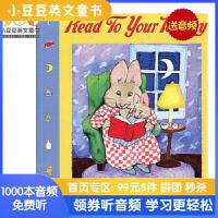 #Read To Your Bunny 给兔宝宝讲故事 吴敏兰书单推荐123第1本 儿童启蒙英文原版绘本