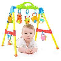 20180908050548883新生婴儿健身器玩具宝宝健身架躺着玩带音乐儿童多功能1-6-12月抖音