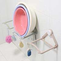 卫生间浴室置物架脸盆挂钩放洗脸盆面盆架强力吸盘无痕免钉挂架