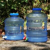 户外车载PC圆桶矿泉水饮水机储水器储水桶可手提