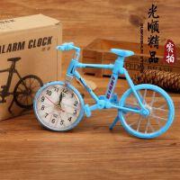 彩色自行车闹钟 创意个性儿童闹钟 学生礼品赠品书房摆件