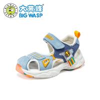 【1件5折�r:114元】大�S蜂�W步鞋����鞋子小童3�q��很�底防滑夏天幼�悍勒鹉型��鲂�