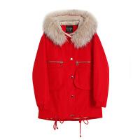 №【2019新款】女式羽绒服短款胖MM特大码女微冬装洋气宽松显瘦加厚外套