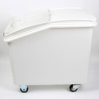 商用塑料可移动米桶白糖粮食储存储干货糖豆类果仁海味面粉车