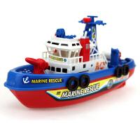 水里的洗澡4-5-6-7-8周岁儿童宝宝电动玩戏水玩具喷水1-3岁抖音 电动玩具船 送电池+小礼品