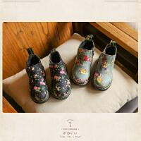 个性韩版男童雪地靴 韩式马丁靴 新款影楼拍照靴 展会新款摄影鞋