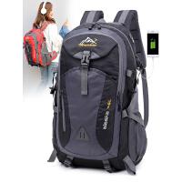 旅游轻便双肩包旅行背包男士大容量休闲书包女户外运动防水登山包