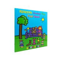 Reading Makes You Feel Good 阅读的感觉真好 英文原版绘本 Todd Parr 托德・帕尔
