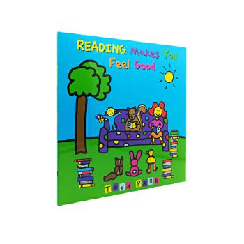 Reading Makes You Feel Good 阅读的感觉真好 英文原版绘本 Todd Parr 托德·帕尔 淘弟有个大世界 孩子的情商培养书系列