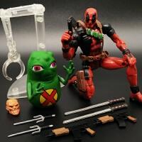 死侍手办玩具模型 X战警X-MAN金刚狼6寸可动人偶 MARVEL TOYBIZ