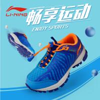李宁运动鞋童鞋男女儿童轻便网面野外跑鞋透气中大童儿童休闲鞋ARDL026