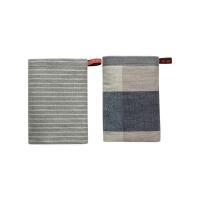 日式擦手巾挂式 吸水厨房搽手毛巾卫生间浴室抹手布 34x34cm