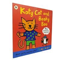 英文原版Katy Cat and Beaky Boo 《小鼠波波》作者露西.卡森作品