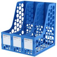 齐心(COMIX)ABS耐用三联文件栏/文件框/文件架 办公文具B2013