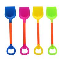 儿童沙滩玩具铲子玩沙工具小孩挖沙铲子小号铲子大号铲子平铲加厚