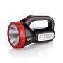 康铭LED手提探照灯强光手电筒家用充电照明保安物业巡逻电筒KM-2623N