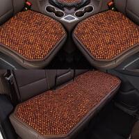 汽车坐垫夏季单片单张木珠方垫透气椅垫凉垫三件套