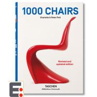 1000 CHAIRS. UPDATED EDITION 1000个椅子 更新版 产品设计书籍 工业产品设计画册画集