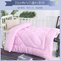 儿童春秋冬被子保暖幼儿园小孩学生午睡丝棉被芯卡通被套110×150
