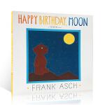 【发顺丰】英文原版 Happy Birthday Moon 月亮,生日快乐 Frank Asch 法兰克・艾许 儿童英