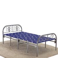 加固折叠床午睡床免安装办公室午休床木板床单人床陪护床四折床